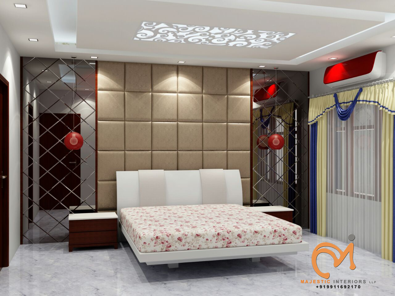 Majestic Interiors Is The Best Interior Designing Firm In Faridabad And  Delhi Ncr , Pop False Ceiling, Wood Work, Modular Kitchen Dealers In  Faridabad, ...
