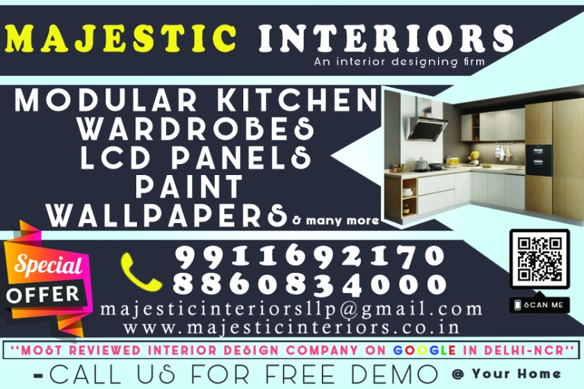 MODULAR KITCHEN; WARDROBES; LCD PANELS; VANITY; PAINT AND WALLPAPERS; PARTITIONS; FALSE CEILING AND POP; MODULAR KITCHEN DEALERS IN FARIDABAD; INTERIOR DESIGNERS IN FARIDABAD; BEST MODUL