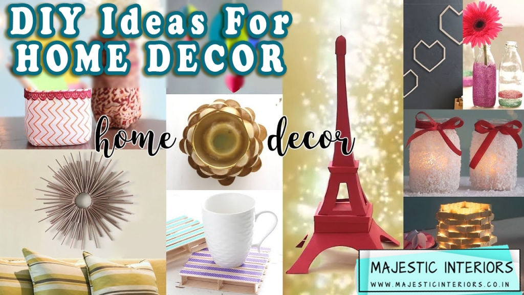 DIY-HOME-DECOR-IDEAS-BEST-WAY-TO-DECORATING- YOUR-HOUSE-HOME-INTERIOR-DESIGNER-IN-FARIDABAD- INTERIOR-DESIGN-IDEAS-LATEST-2020 1 GLASS BOTTLE WRAPED IN THREAD AND THEN PAINTED. WALL SHELVES OR WALL RACKS DIY MIRROR, DIFFERENT TYPE OF MIRRORS DIY WALL DECOR IDEAS, WALL PAINTINGS, COLLAGE OF PICS DIY FLOOR MATS, IDEAS FOR FLOOR MAT WITH DIFFERENT THINGS DIY PLANTERS, PLANT POTS IDEAS DIY LAMP SHADES IDEAS