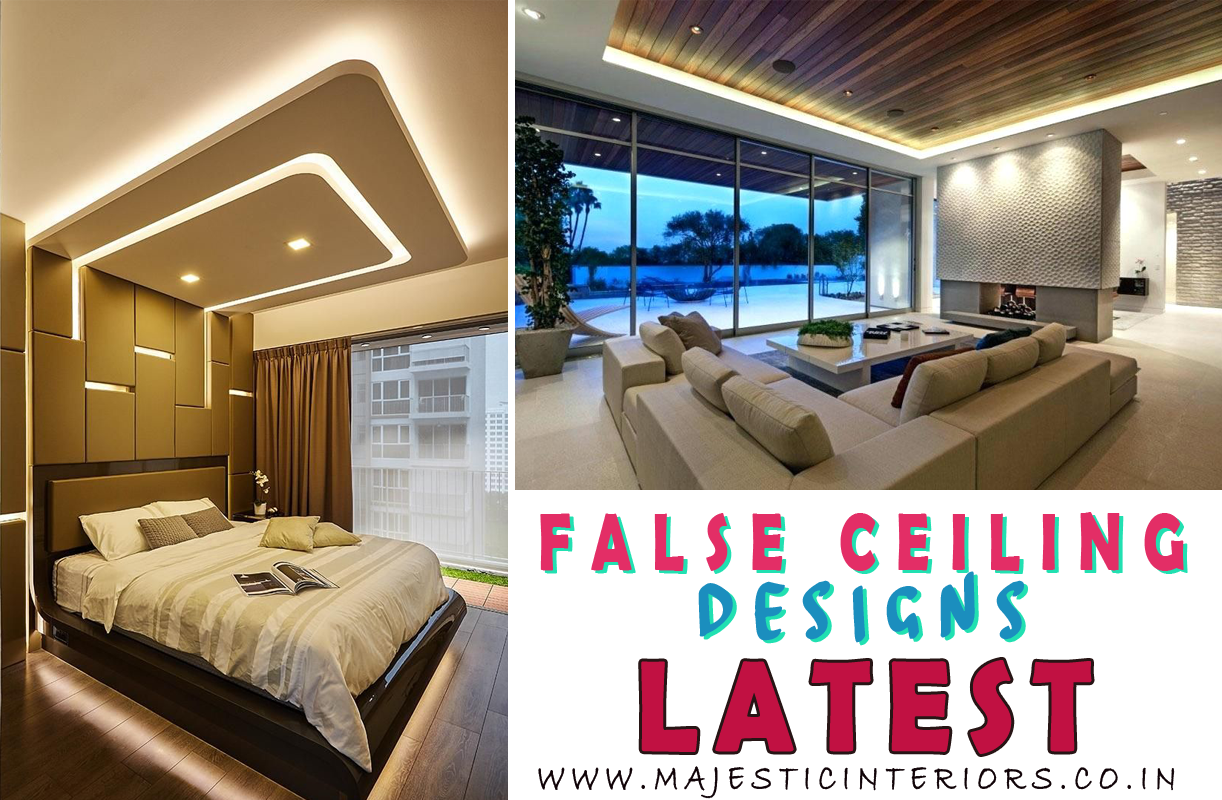 Ceiling Patterns False Ceiling Designs For Bedroom Drawing Room Offices Restaurants Majestic Interiors An Interior Designing Firm
